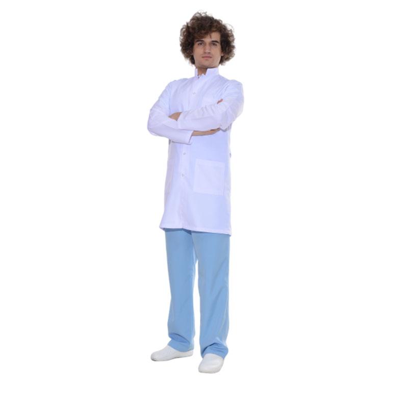 Bay Beyaz Uzun Önlük